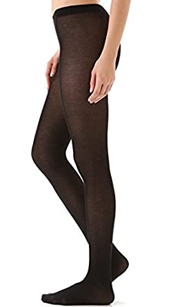 b1a453c7d61 Falke Cotton Touch Tights - Women s - Black - S  Amazon.co.uk  Clothing