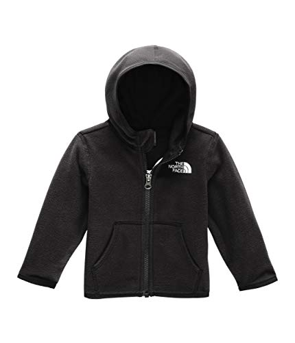 (The North Face Kids Unisex Glacier Hoodie (Infant) TNF Black 12-18)