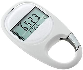 Walking Distance Exercise Pedometer Step Counter with Carabineer Clip OurLeeme Digital Pedometers