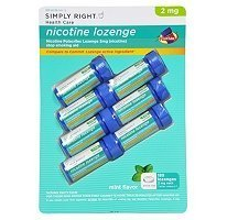 - Simply Right Nicotine Lozenge 2mg - 168 ct.