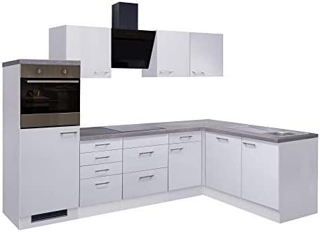 Smart Möbel - Bloque de Cocina en ángulo (280 x 170 cm, con ...