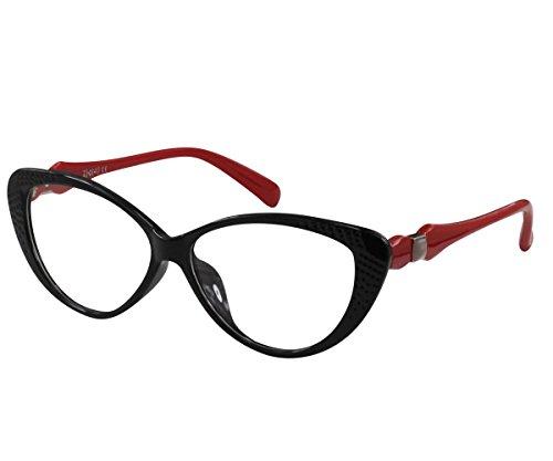 EyeBuyExpress Women Reading Glasses Reader Cheaters Large Frame Prescriptive Bold - Glasses Prescriptive