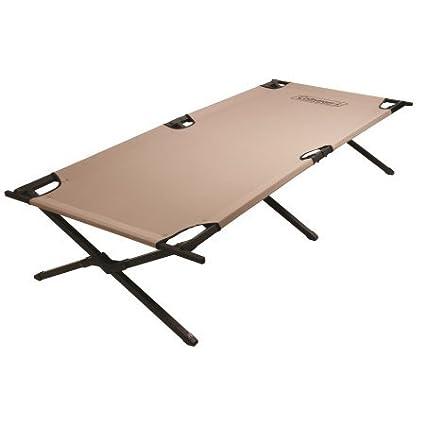 Amazon.com: Coleman Trailhead II Military style X-frame cot Steel ...