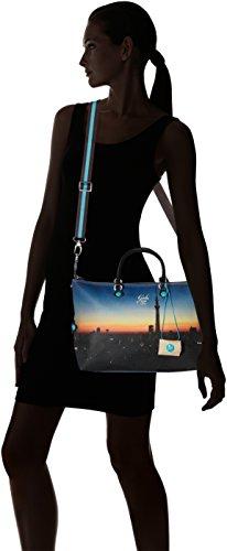 304 Alba Shopping Multicolore Print Donna Borsa Studio Katia Tg L Gabs fSTz4v