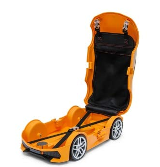 Ridaz Lamborghini Huracan Carry-on Hand Luggage for kids, (Officially Licensed by Lamborghini) Orange Lamborghini by Ridaz (Image #5)