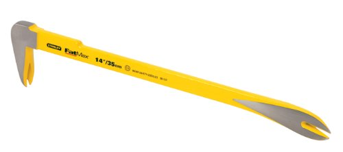 Nail Claw Bar - Stanley 55-123 FatMax Claw Bar, 14-Inch