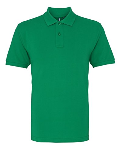 Asquith Fox - Polo - para hombre Washed Kelly