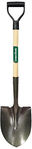 UnionTools Poly D-Grip Round Point Shovel - 43106