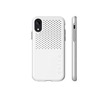 Razer Arctech Pro for iPhone XR Case: Thermaphene & Venting Performance Cooling - Wireless Charging Compatible - Drop-Test Certified up to 10 ft - Mercury White (RC21-0145PM01-R3M1)