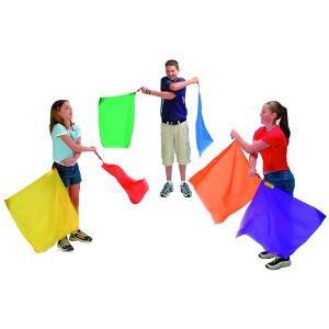 Idemasport – Spiel-6 Flaggen Flaggen Flaggen Rhythmischen 50 cm 6e0acb
