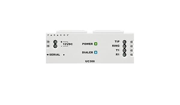 Paradox UC300 módulo conversor para de Central de alarma ...