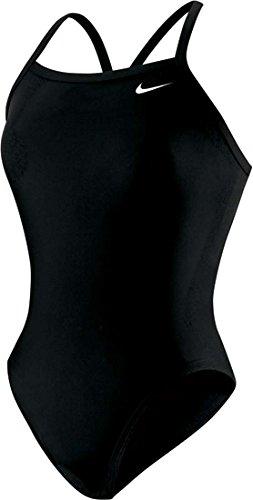 UPC 054839894613, Nike Nylon Core Solid Lingerie Tank Swimsuit - Women's Size 22 Color Black