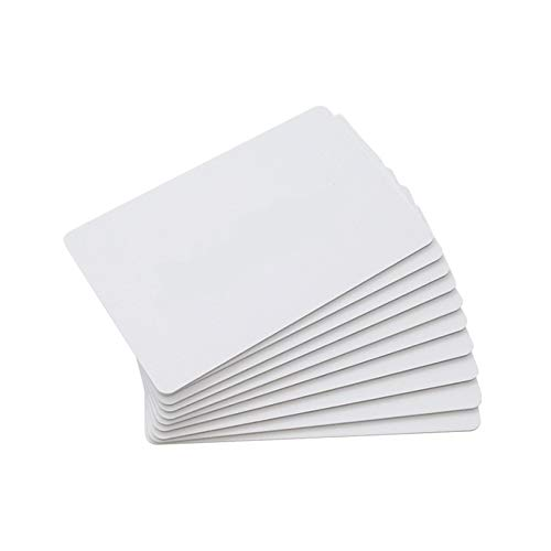 THONSEN 25PCS CR80 13.56MHz Blank NFC NTAG215 Cards Printable, Work with TagMo and Amiibo for All NFC-enabled Smartphones and Devices