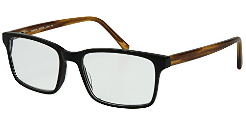 SightLine Nathan Handmade Multifocal Computer Reading Glasses. Full-Rim Designer Frame With Progressive Magnification Anti-Glare Coated Lenses (3.00, - Eyeglass Plastic Frames Adjusting