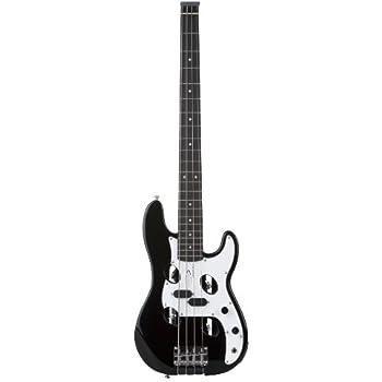 traveler guitar tb 4p electric travel bass black musical instruments. Black Bedroom Furniture Sets. Home Design Ideas