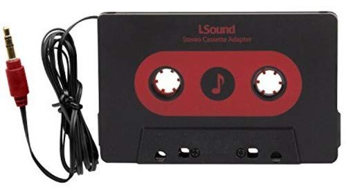 ISound Car Stereo Cassette Adapter - Plays Music from Your Audio Device to Your Car Stereo Cassette Player ()