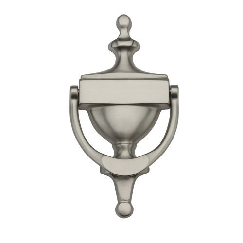 Baldwin 0110.150 Victorian Door Knocker, Satin Nickel Victorian Door Knocker