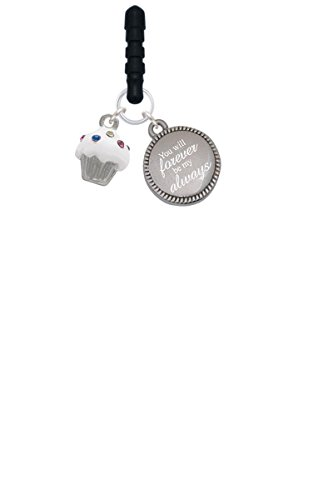 small-white-cupcake-with-crystal-sprinkles-forever-be-my-always-phone-charm