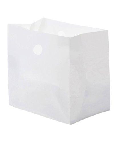 Glopack SANNWTPE Diner Bag with Die cut Handle, 14'' Length x 14'' Width (Case of 250) by Glopack