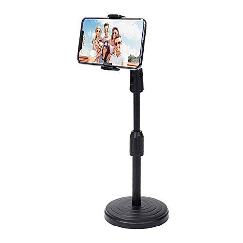 MemeHo® Cell Phone Holder/Height and Angle Adjustable Phone Stand/Smartphone Mount Clamp with 360° Rotation/Bracket…