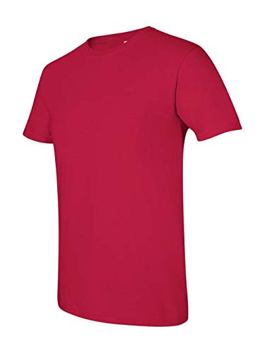 Gildan Men's Softstyle Ringspun T-shirt - Small - Cherry Red -