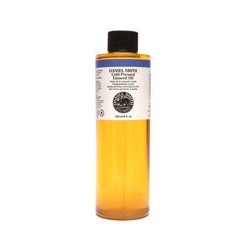 Daniel Smith 284470010 Original Oil, Cold-Pressed Linseed Oil, 8oz by DANIEL SMITH
