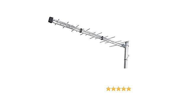 Emos J0670 - Antena (28 dBi, UHF, 40 x 1035 x 340 mm, 75 Ω, DVB-T,DVB-T2, 470-790 MHz)