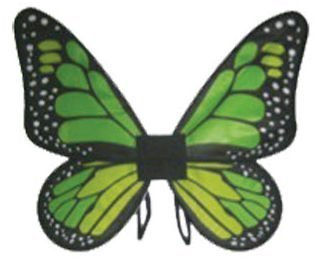 Costumes for all Occasions FW90067GL Wings Butterfly Satin Ch Green by Costumes For All Occasions