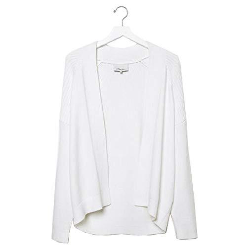 3.1 Phillip White Bias Rib Sweater Medium