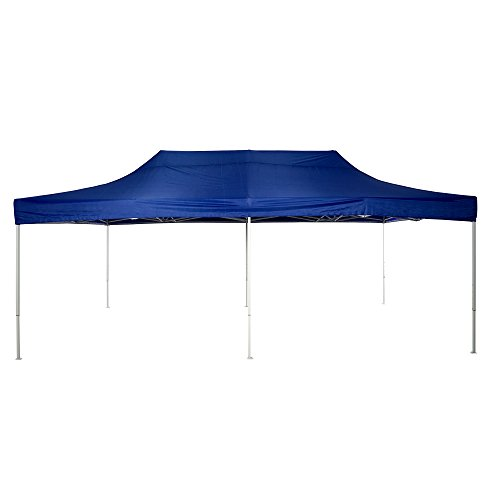 American Phoenix 10x10 10x15 10x20 [White Frame] Portable Event Canopy Tent, Canopy Tent, Party Tent Gazebo Canopy Commercial Fair Shelter Car Shelter Wedding Party Easy Pop Up (Blue, 10x20)