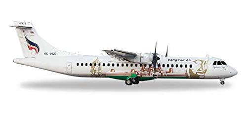 Herpa Herpa Herpa 559164 ATR-72-500 Bangkok Air. Angkor, Farbe e654d7