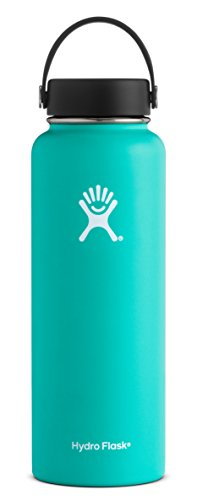Hydro Flask 40 oz Double Wall Vacuum Insulated Stainless Steel Leak Proof Sports Water Bottle, Wide Mouth with BPA Free Flex Cap, - Shopping Hot Women