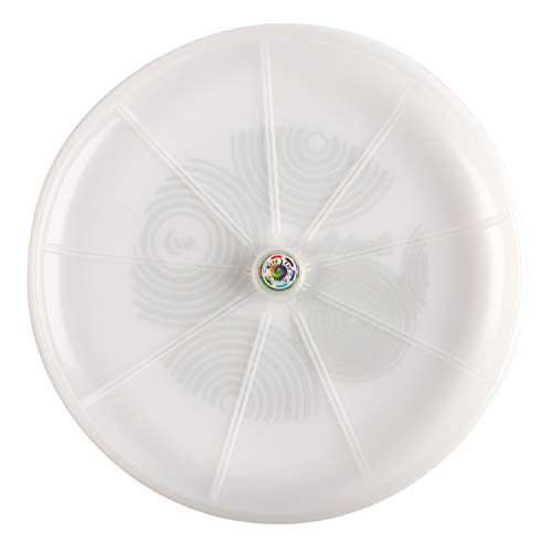 Nite Ize Flashflight LED Flying Disc with Disc-O Select, Light Up The Dark for Night Play, 185g, Choose-Your-Color Disc-O Select