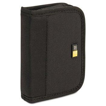 Case Logic - Media Shuttle, Holds 6 USB Drives, Black - CLGJDS6