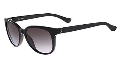 Calvin Klein Platinum CK3176S Sunglasses 001 Shiny Black