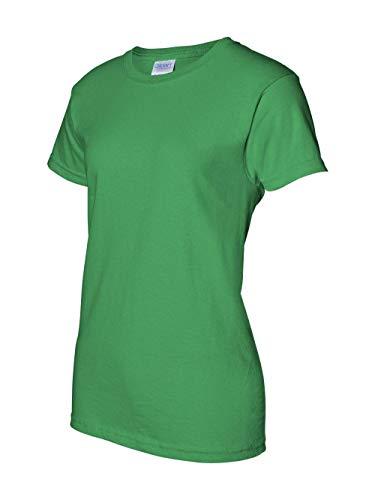 Gildan Mens Ultra Cotton 100% Cotton T-Shirt, 2XL, Irish Green (Jersey Heavyweight Gildan)