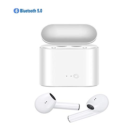 Bluetooth Earbuds 5.0 Wireless Headphones with Charging Case