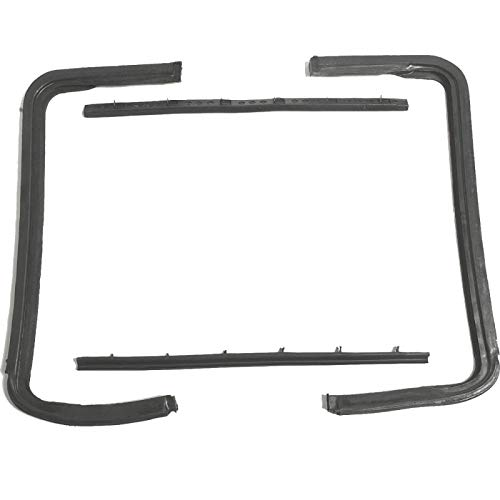 - Eckler's Premier Quality Products 57131572 Chevy Weatherstrip Set Vent Window Hardtop Convertible &Nomad