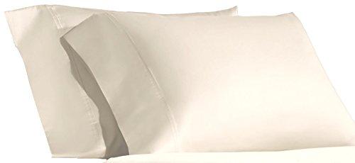Ralph Lauren Dunham 2 Standard Pillowcases Daffodil 300 Thread Count 100 Percent Cotton Sateen