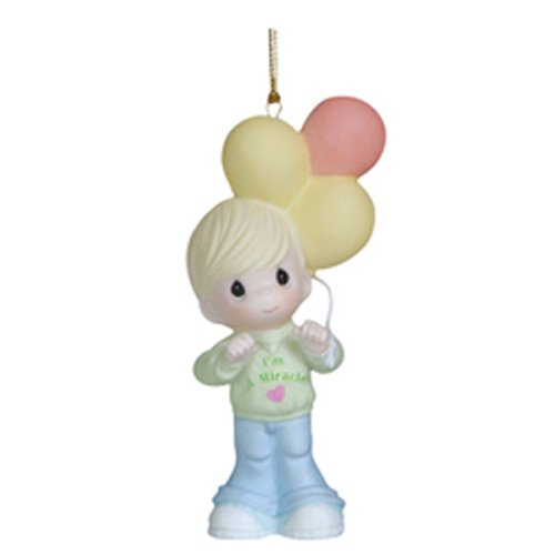Precious Moments You Are a Miracle Ornament, Boy Figurine