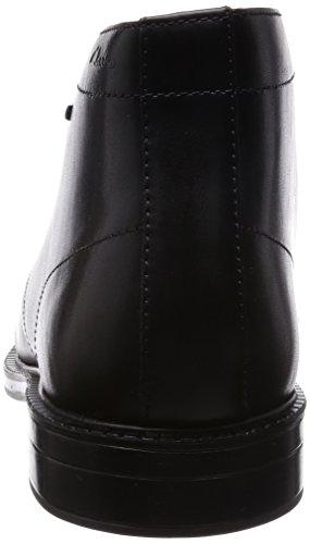 Cuero Botas Black Hi GTX Clarks Leather Negro de Hombre Chilver fqR4qBnWX