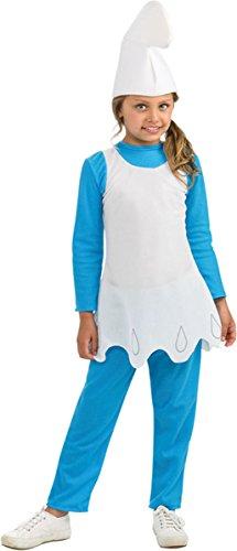 Rubie's Big Girl's Smurfette Child Costume Large -