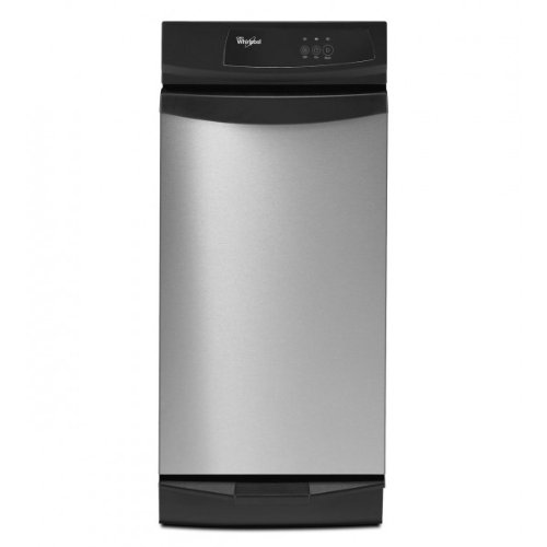 Whirlpool GX900QPP Undercounter 15W in. Trash Compactor with Clean Touch Console - Stainless Steel by Whirlpool