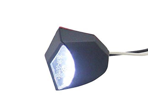 Moto É clairage Plaque Immatriculation X 3 Led Alchemy Parts Ltd