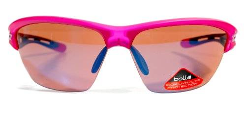 Bolle Helix Sunglasses (Rose Blue, Satin Crystal - Sunglasses Bolle Helix