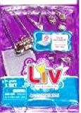 Liv Doll Accessories: Scarf, Purse, Bracelet, Shoes, Necklace and Earrings *Doll NOT Included, Baby & Kids Zone