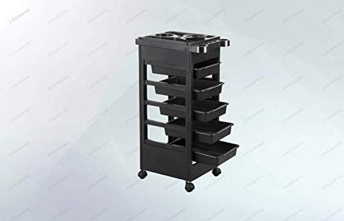 COLIBROX_1 x Salon Cart, This is our multifunction salon trolley cart. This salon storage cart is great for beauty, tattoo, nail technicians, pet groomers and other professional uses.