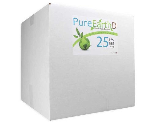 25lbs Pure Diatomaceous Earth DE by PureEarthD Kills bed bugs and other insects