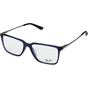 Ray-Ban Men's RX5343D Eyeglasses Matte Blue 55mm
