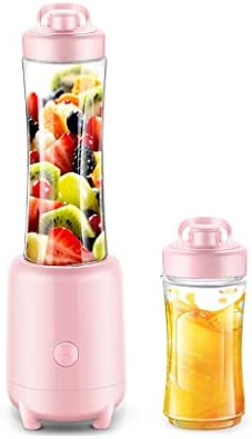 QQB & Licuadora Personal Licuadora portátil Exprimidor de Frutas for el hogar Batidora Mini batidora de Frutas y Verduras, con Taza de acompañamiento: Amazon.es
